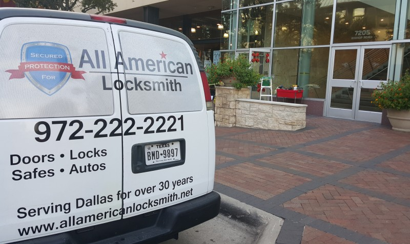 Commercial Services All American Locksmith Dallas