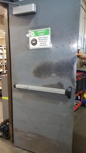 Warehouse door 1 Replacement